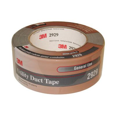 "3M Utility Duct Tape 2929 Silver 2"" X 50 yd"