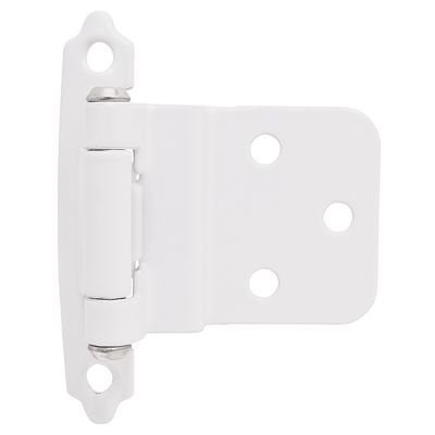 Amerock Hinge For 3/8in Inset White