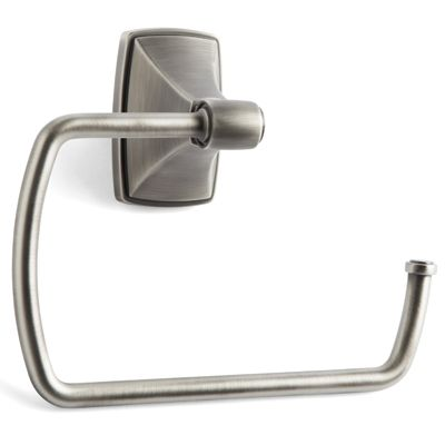 Amerock BH26501-AS Towel Ring Antique Silver