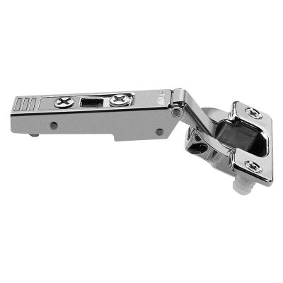 Blum 120°+ Clip Top Self-Closing, Straight-Arm, Press-In Hinge