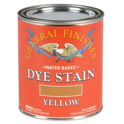 General Finishes Water Based Dye Stain Yellow