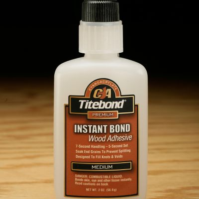 Titebond 6211 Instant Bond Adhesive Medium 2 oz
