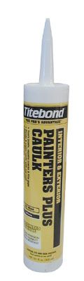 Titebond Painters Plus Caulk White 10.1 oz