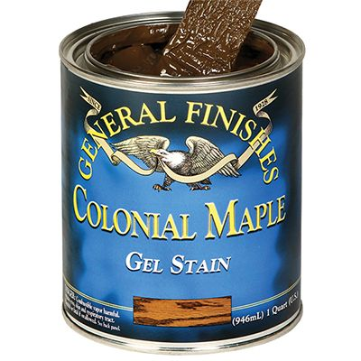 General Finishes Colonial Maple Gel Stain