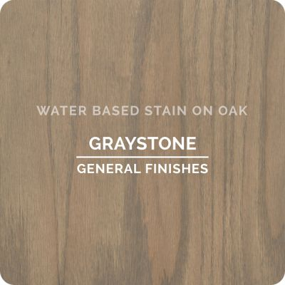 General Finishes Water Base Stain GRAYSTONE 1 Quart