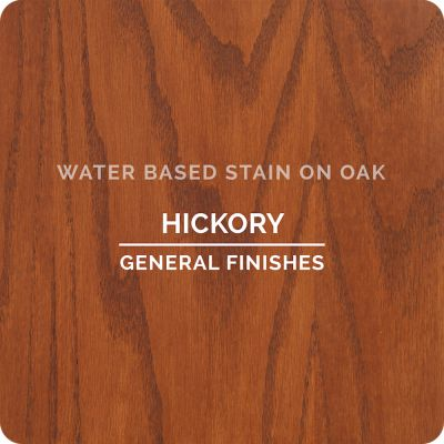 General Finishes Water Base Stain HICKORY 1 Gallon