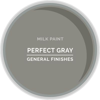 General Finishes Milk Paint PERFECT GRAY Quart