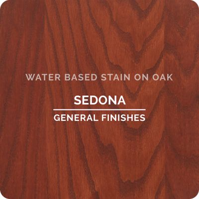 General Finishes Water Base Stain SEDONA 1 Pint