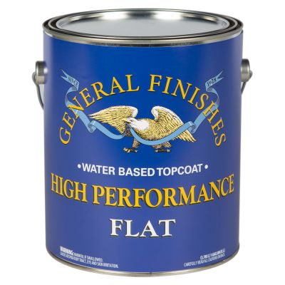 General Finishes Water Based High Performance Polyurethane Top Coat Flat Gallon