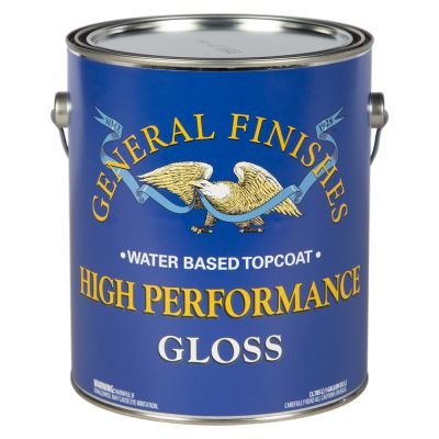 General Finishes Water Based High Performance Polyurethane Top Coat Gloss Gallon