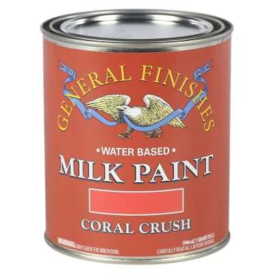 General Finishes Coral Crush Milk Paint