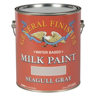 General Finishes Water Based Milk Paint Seagull Grey