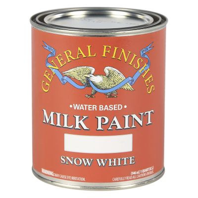 General Finishes Water Based Milk Paint Snow White