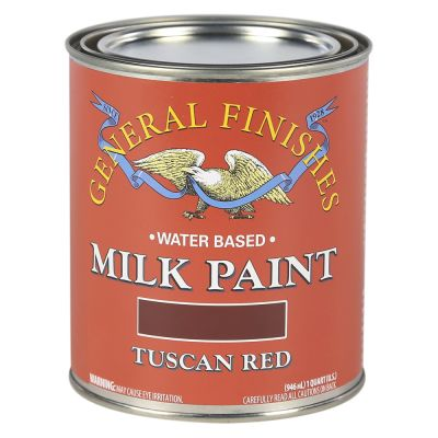 General Finishes Water Based Milk Paint Tuscan Red