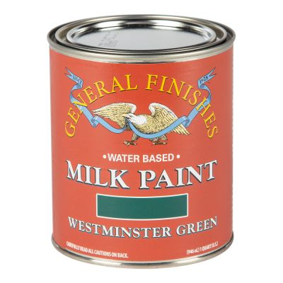 General Finishes Milk Paint WESTMINSTER GREEN Quart