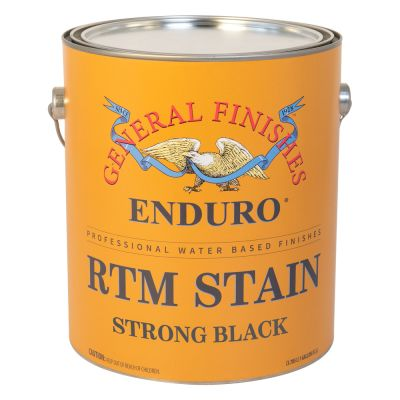General Finishes Strong Black RMT Stain GFRTM.STB.1 1 Gal