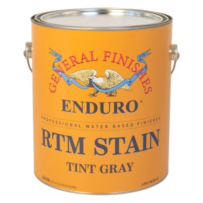 General Finished Tint Gray RTM Stain GFRTM.TG.1 1Gal