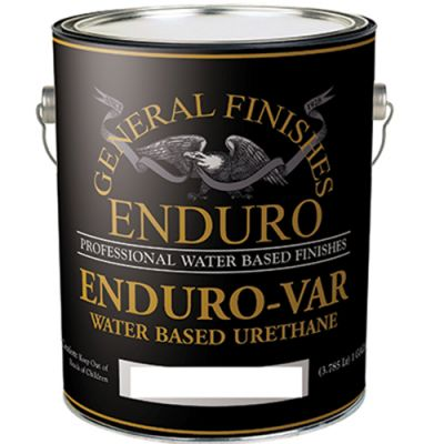 General Finishes Water Based Exterior 450 Clear Satin 5 Gallon