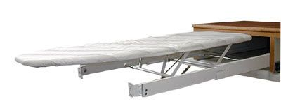 Pull Out Ironing Board cover flip and tip white