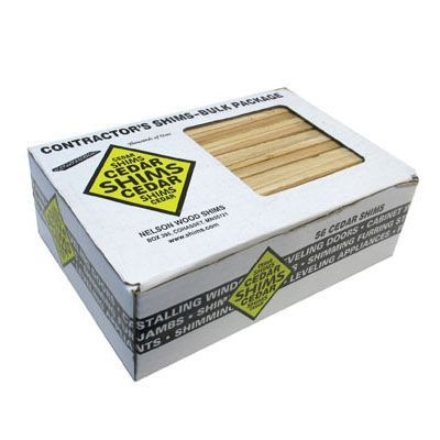 Nelson Wood Shims pine 120 pack