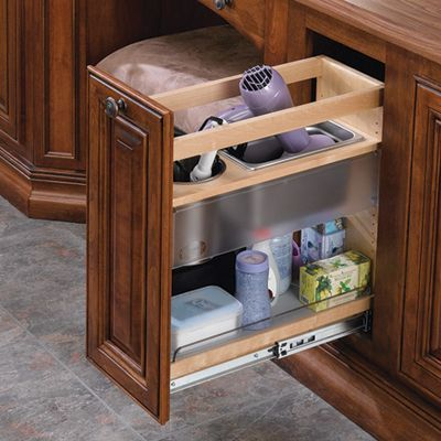 """Rev-A-Shelf Pull Out Grooming Organizer 20-1/4""""H"""