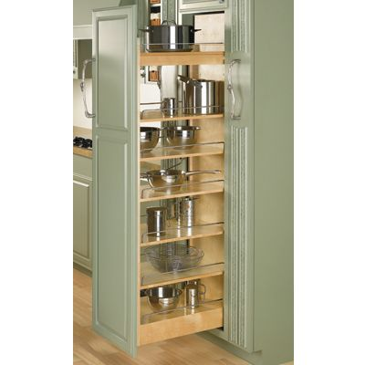 "Rev-A-Shelf Wood Pantry 14"" x 50-7/8"""