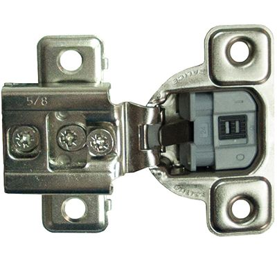 "Salice Series S 3 Cam Adjustment with Soft Close 5/8"" Press In"