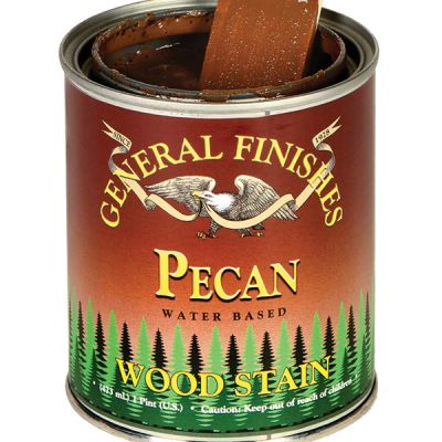 General Finishes Water Based Stain Pecan Quart