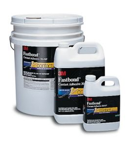 3M Fastbond Contact Adhesive 30-NF green 5 gallon pail