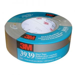 "3M Duct Tape 3939 Silver 2"" X 50 yd"