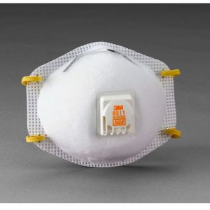 3M Particulate Respirator N95 W/Exhalation Valve