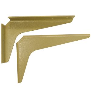 "A & M Hardware Work Station Brackets Almond 5"" x 8"""