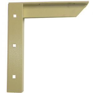 A & M Concealed Shelf Support Bracket Almond