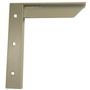A & M Concealed Shelf Support Bracket Gray