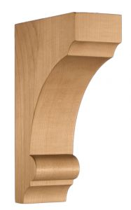 Art for Everyday Corbel Brace 4x9-1/8x14 Maple