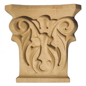 Art For Everyday CPL-A Series Carved Capital Paint Grade