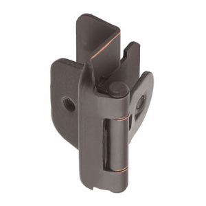 "Amerock Double Demountable, 1/2"" Overlay, Oil Rubbed Bronze Hinge"