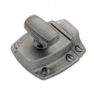 "Amerock BP55315-AP 1-1/2"" x 1-3/4"" Latch Aged Pewter"