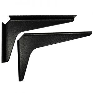 "A & M Hardware 18"" x 18"" Support Bracket Black"