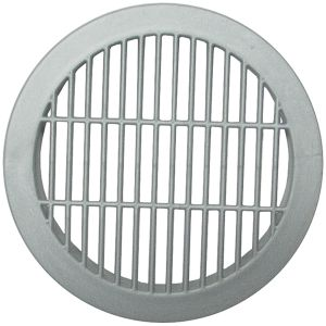Bainbridge Vent Grommet for 2.5in Dia Hole Silver