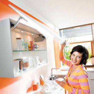 Blum Aventos HS Up and Over Lift System