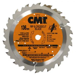 """CMT Ripping Blade for Cordless Saws 5-3/8"""""""