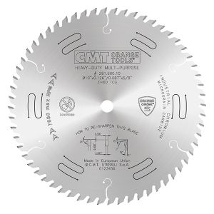 CMT Heavy Duty Multi-Purpose Blade 10in Dia