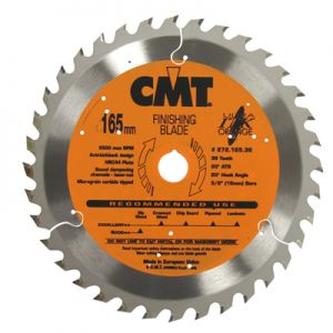 CMT Melamine/Plywood Blade for Cordless Saws