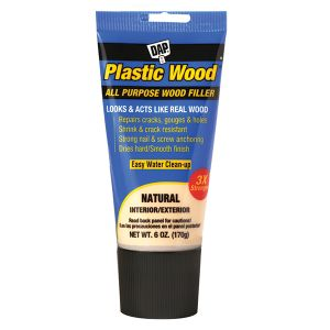 DAP 6oz Plastic Wood Natural Tube