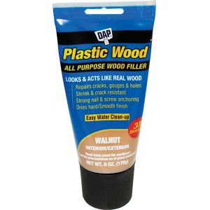 DAP 6oz Plastic Wood Walnut Tube