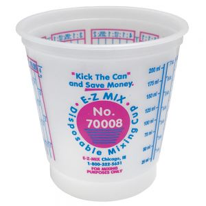 E-Z Mix 70008 1/2 Pint Mixing Cup