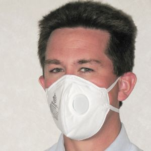 FastCap Dust Mask with Exhale Valve