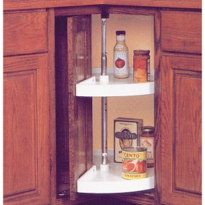 KV Pie Cut / Door Mount Lazy Susan Set
