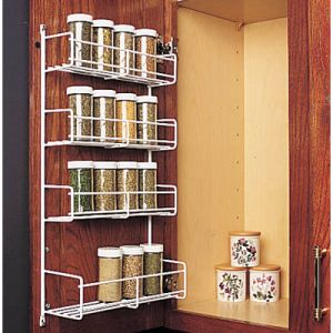 KV Door Mount Wire Spice Rack